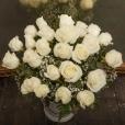 Ramo de Rosas Blanco