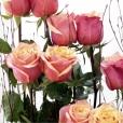 Centro de rosas Partitura de Rosas