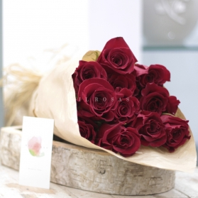Ecobox Rosas al Natural Rojas