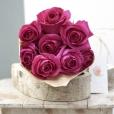Rosas al Natural Ecobox Fucsias