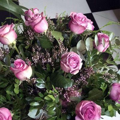 Ramo de Rosas Malva