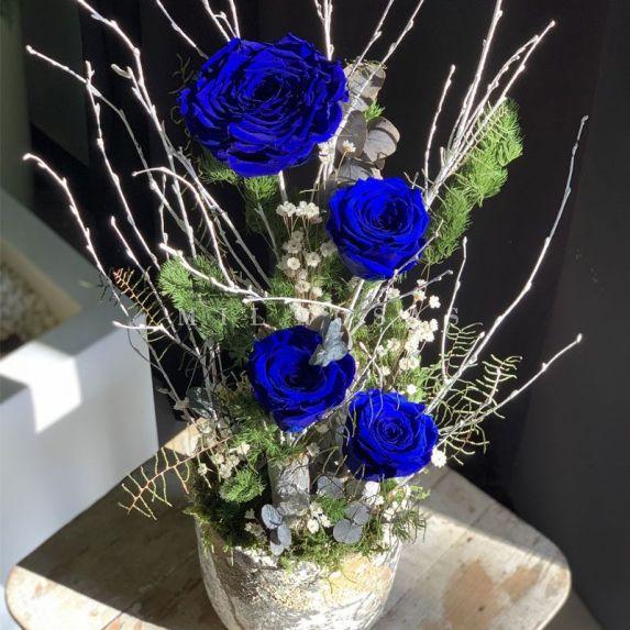 Madrid Blue Velvet