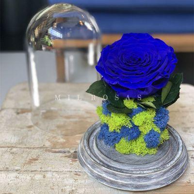 Joya Totem Rosa Azul